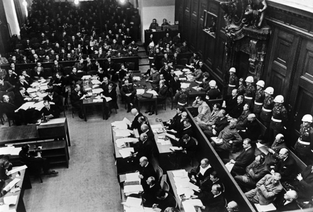 Seventy-five years ago, the Nuremberg trials open
