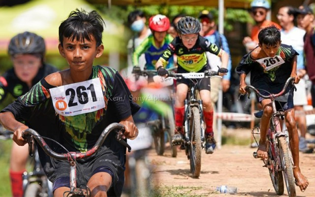 A Young Cambodian's Passion for Bicycle Racing Stirs Up Enthusiasm on Social Media