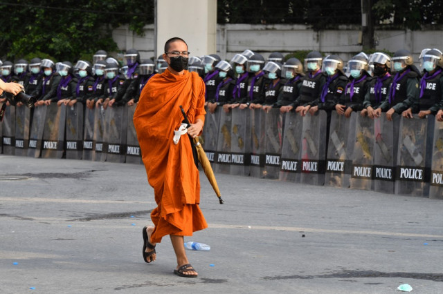 Thai MPs to vote on reforms, day after six protesters shot