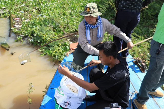 Clean-up Campaign Clears 250 Tons of Plastic Waste Annually in Siem Reap