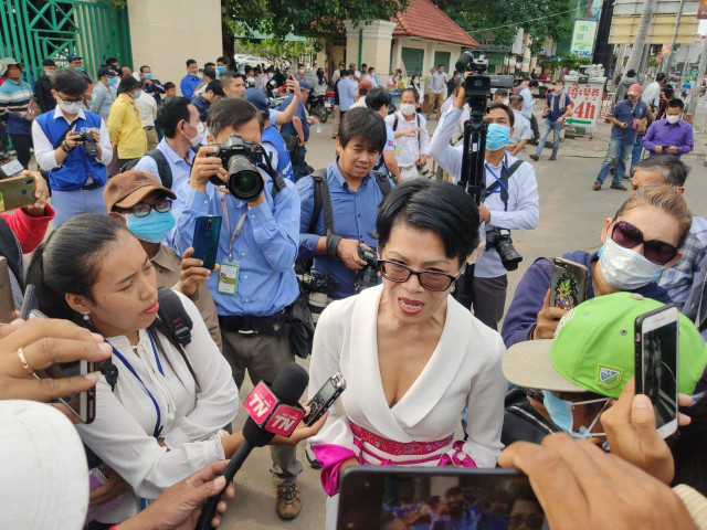 The Phnom Penh Municipal Court Postpones to 2021 the Hearing of More than 100 Former CNRP