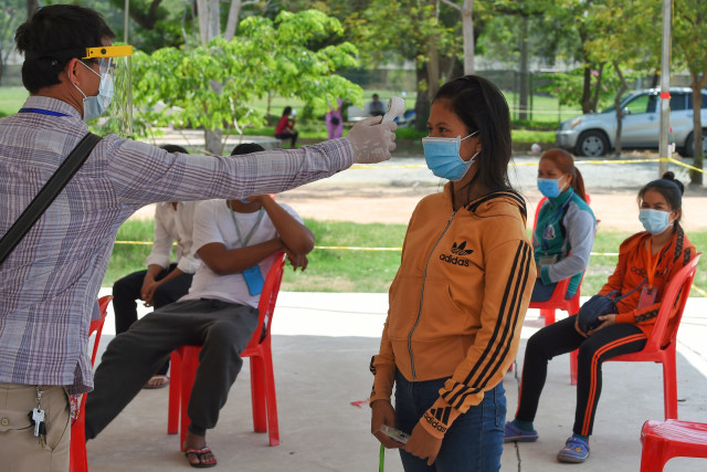 Cambodia Reports Eight New Locally Transmitted COVID-19 Cases