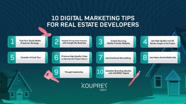 10 Digital Marketing Tips for Real Estate Developers