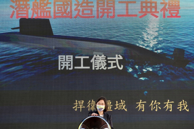 Taiwan says US has approved key submarine technology sale