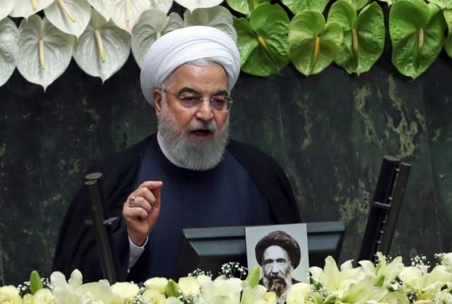 Rouhani says Iran 'very happy' Trump leaving