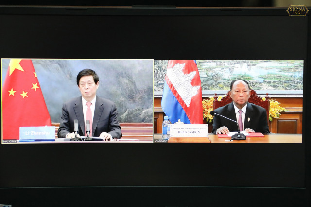 China, Cambodia to enhance cooperation, boost ties