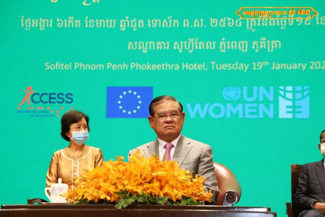 Interior Minister Sar Kheng Voices Concern over Violence Against Women