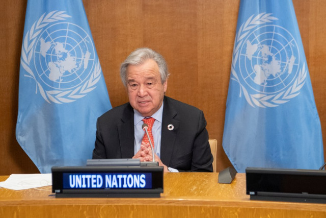 UN chief welcomes U.S. re-entry into Paris Agreement