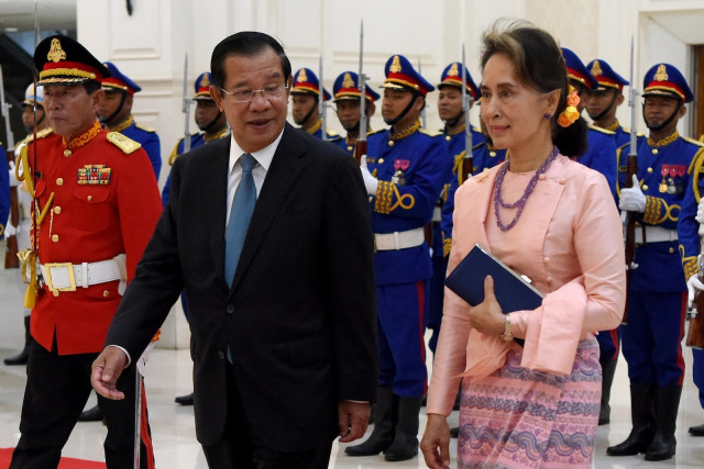 "Hun Sen Considers Military Takeover in Myanmar ""an Internal Affair"""