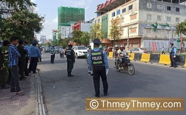 Cambodia Collected More than $6 Million in Fines for Traffic Law Violations in 2020