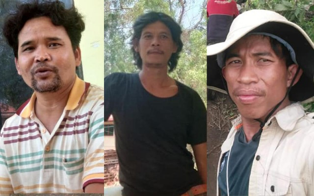 Five Cambodian Environmentalists Are under Arrest in Kratie Province