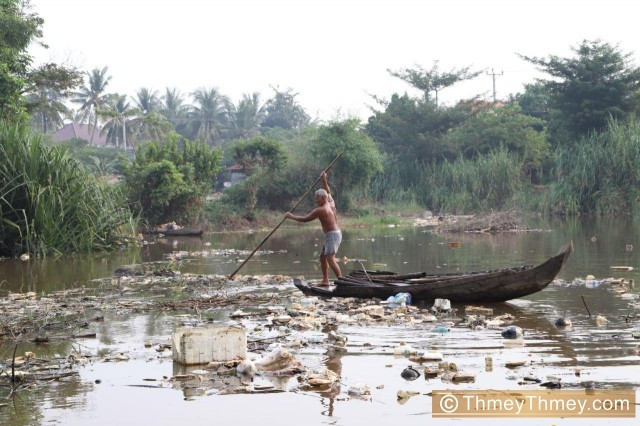 More than 27 Tons of Rubbish Taken Out of the Siem Reap River