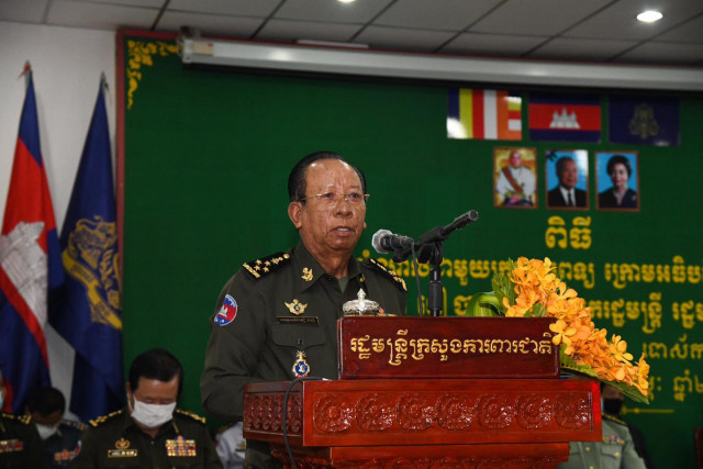 Defense Minister Tea Banh Healthy 20 Days after Sinopharm Vaccination