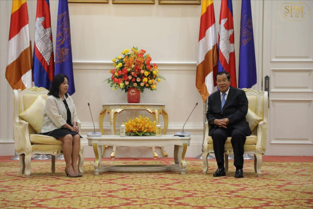 PM Hun Sen Seeks Investment from the Philippines amid Falling Rice Exports