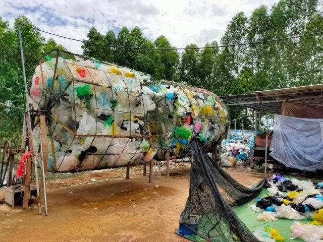 Local Recycling Firm Committed to Helping Battambang Province Reducing Plastic Waste
