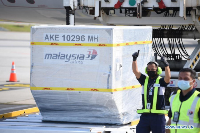 Malaysia takes first delivery of Sinovac's COVID-19 vaccine