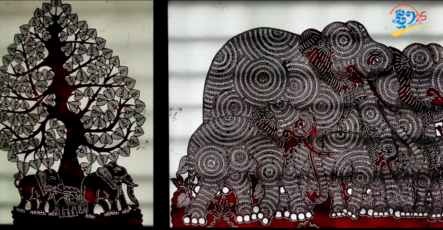 The Art of Leather Carving -- a Cambodian Tradition that Nhek Sereyrathna Maintains and Teaches