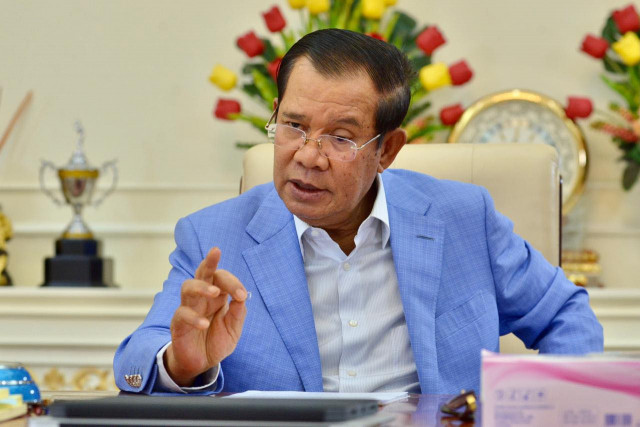 Prime Minister Hun Sen Soon to Be Injected with the AstraZeneca Vaccine