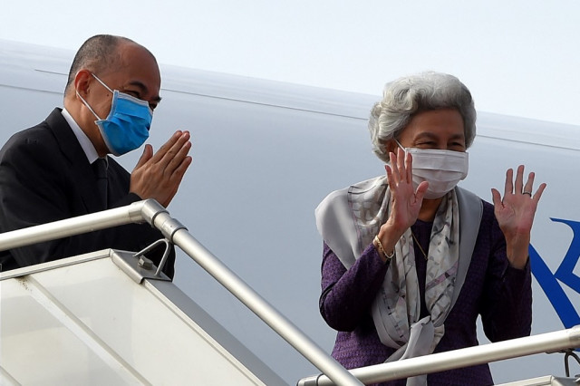 King and Queen Mother Head to China for Routine Health Checkup