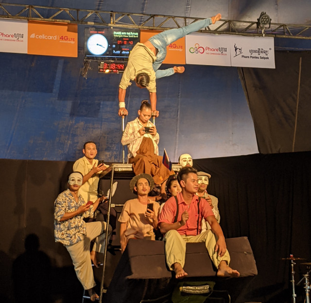 Phare Ponleu Selpak Try for World Record with Longest Circus Show Ever Held