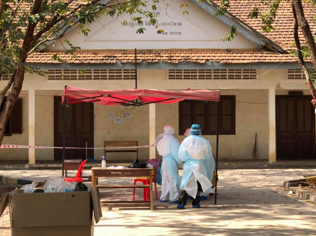 Cambodia Records 41 New COVID Cases Linked to Community Outbreak