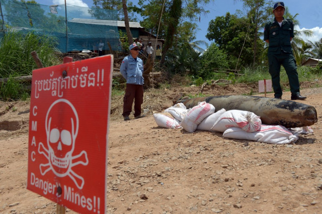 US to Provide $7 Million to Support Cambodia's Demining Effort