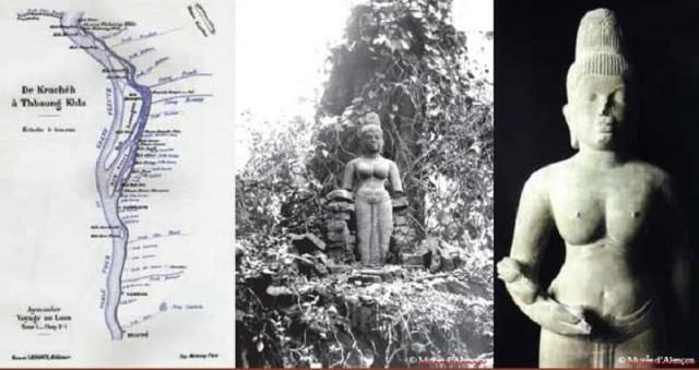 Statue of « Devi »