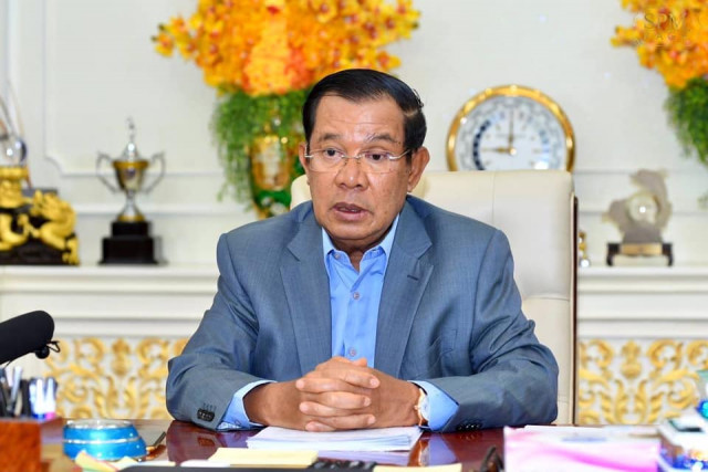 Hun Sen Blames Bad Governance, Orders Stringent COVID Measures as WHO Warns of Health Disaster