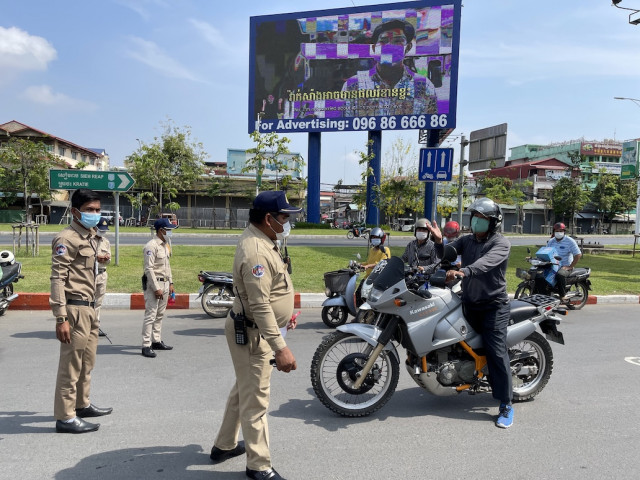 Phnom Penh Under Lockdown to Curb COVID Spread