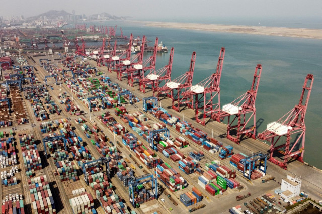China's exports top forecasts, imports growth best in 10 years